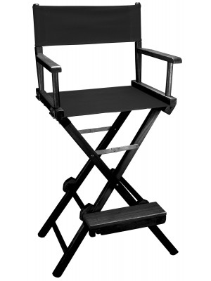 Director Chair - Black (Tall)