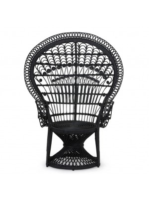 Black Peacock Chair