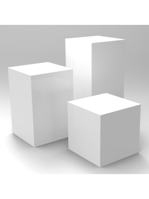 Plinths - Assorted Sizes